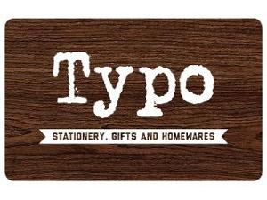 Typo Gift Card $30 product photo