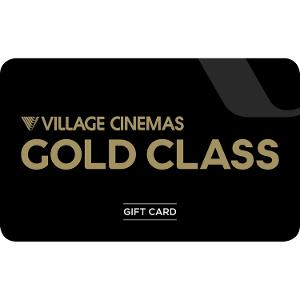 $100 Village Cinemas Gold Class Gift Card product photo