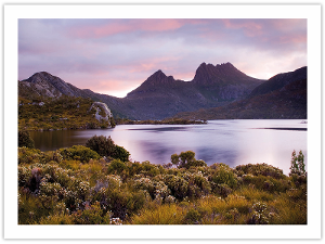 Cradle Mountain postcard product photo