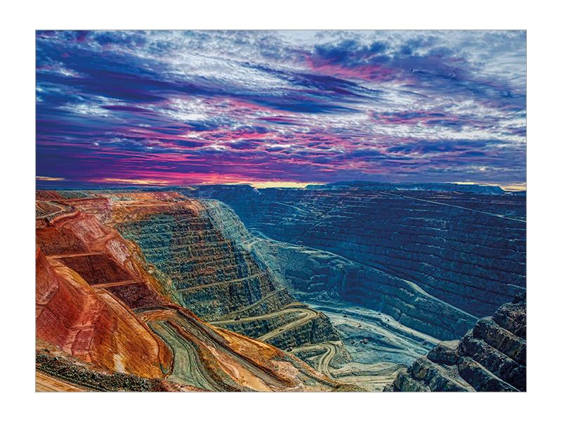 Super Pit, Kalgoorlie postcard