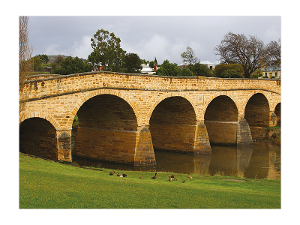 Richmond Bridge postcard product photo