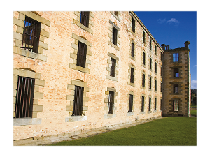 Port Arthur historic penitentiary postcard product photo