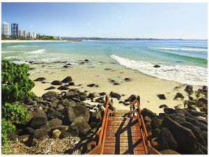 Coolangatta Beach postcard product photo