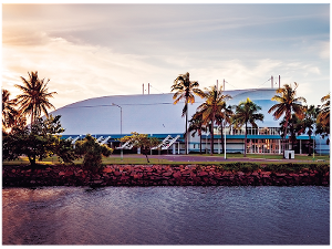 Townsville Entertainment Centre postcard product photo
