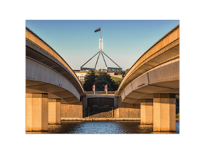 Commonwealth Bridge, Canberra postcard product photo
