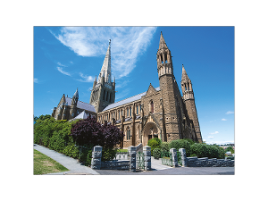 Sacred Heart Cathedral, Bendigo postcard product photo