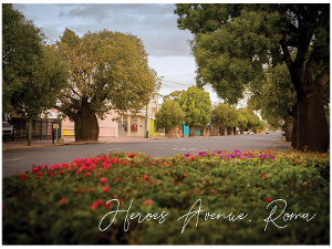 Heroes Avenue, Roma postcard product photo