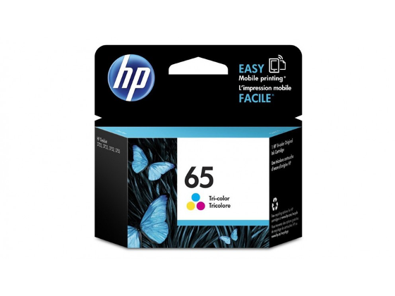 HP 65 Tricolor Ink Cartridge product photo Internal 1 DETAILS