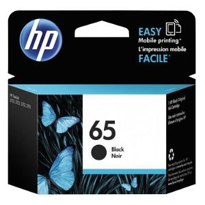 HP 65 Black Ink Cartridge product photo