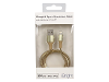 iBright Aluminium Lightning Cable - Gold product photo Internal 1 THUMBNAIL