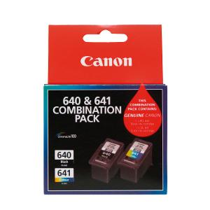 Canon PG-640 Black and CL-641 Colour Ink Cartridge Combo Pack product photo