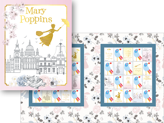 Mary Poppins stamp pack product photo Internal 1 DETAILS