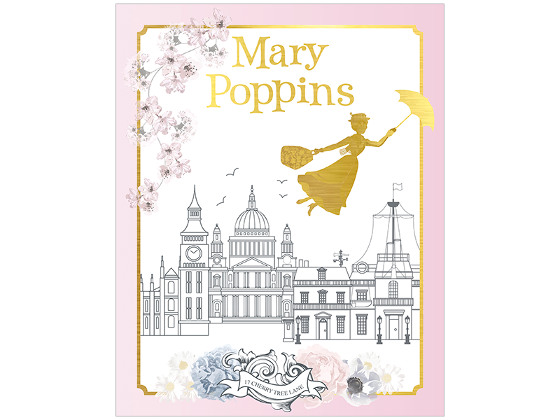 Mary Poppins stamp pack product photo Internal 5 DETAILS