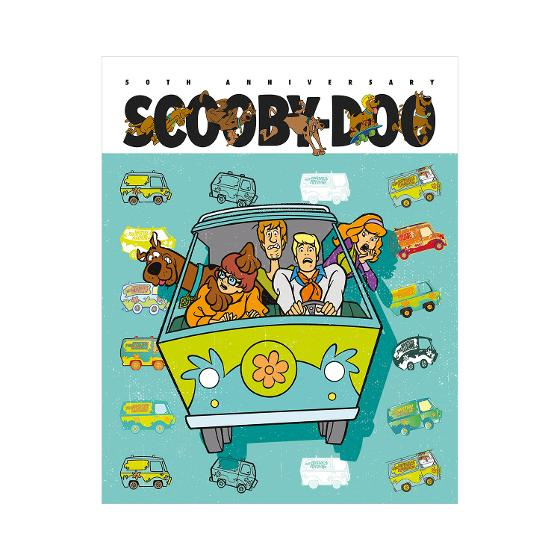 Scooby-Doo 50th Anniversary stamp pack product photo Internal 4 DETAILS