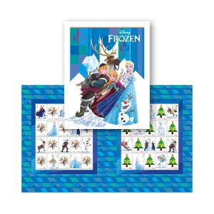 Frozen stamp pack product photo
