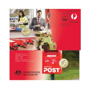 "The Australia Post ""A"" PNC product photo"