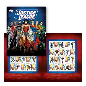 Justice League stamp pack product photo