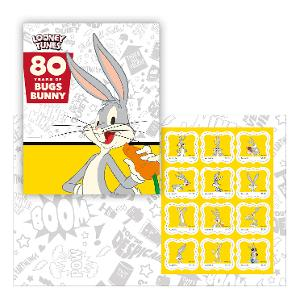 80 Years of Bugs Bunny stamp pack product photo