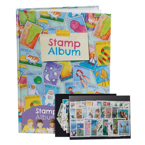 Kids Stamp Album product photo Internal 1 DETAILS