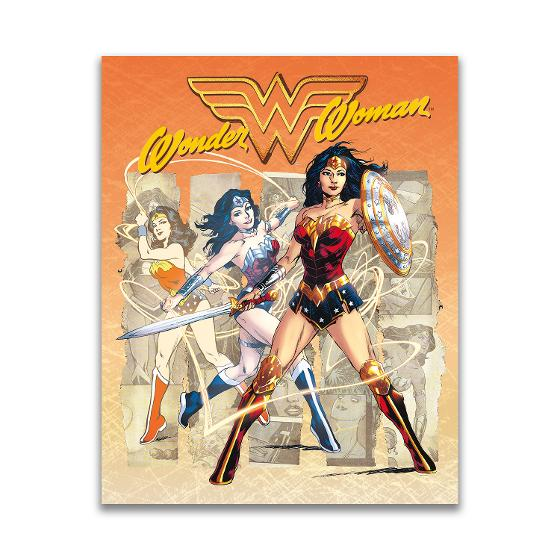 Wonder Woman stamp pack product photo Internal 1 DETAILS