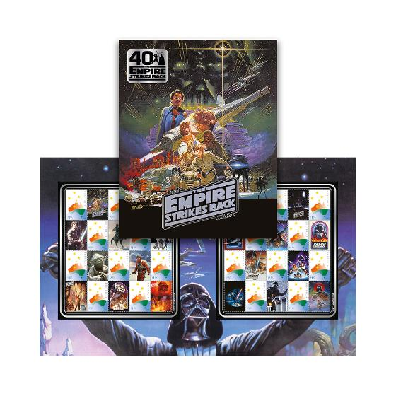 The Empire Strikes Back: 40 Years stamp pack product photo Internal 1 DETAILS