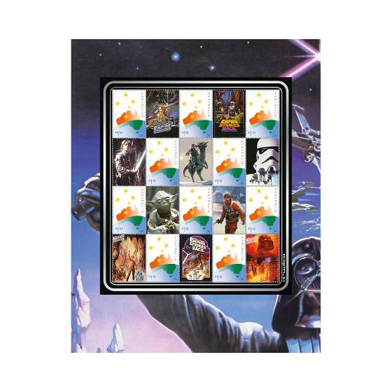 The Empire Strikes Back: 40 Years stamp pack product photo Internal 2 DETAILS