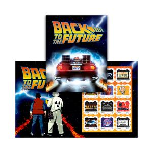 Back to the Future stamp pack product photo
