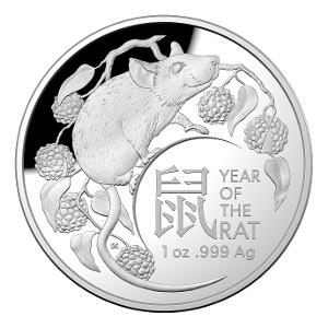 2020 $5 Fine silver proof Domed coin product photo