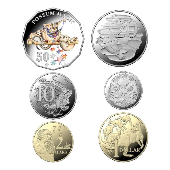 2020 Baby proof six-coin year set product photo Internal 2 DETAILS