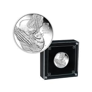 2020 Year of the Mouse 1/2oz silver proof coin product photo