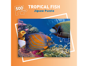 500 piece Tropical Fish jigsaw puzzle product photo