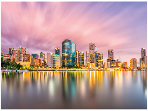 Brisbane postcard product photo