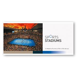 Chequebook of 20 x 10 x $1.10 Rod Laver Arena stamps product photo