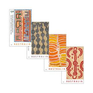 Set of Art of the Desert gummed stamps product photo