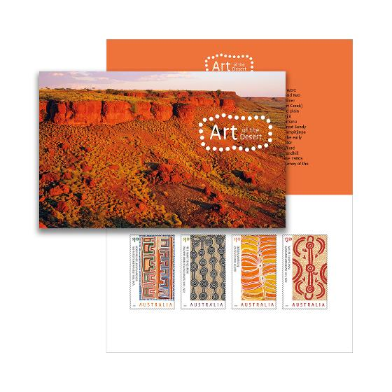 Art of the Desert stamp pack product photo Internal 1 DETAILS