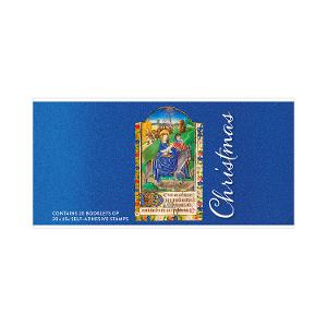 Chequebook of 20 x 20 x 65c Christmas 2019 religious stamps product photo