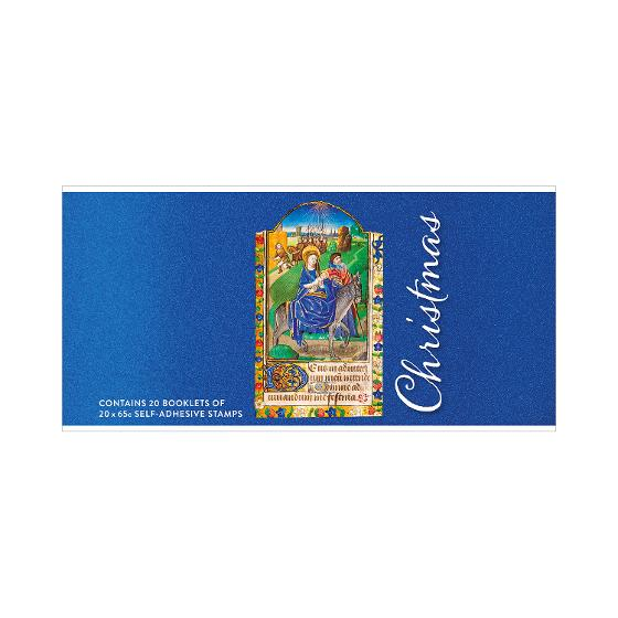 Chequebook of 20 x 20 x 65c Christmas 2019 religious stamps product photo Internal 1 DETAILS