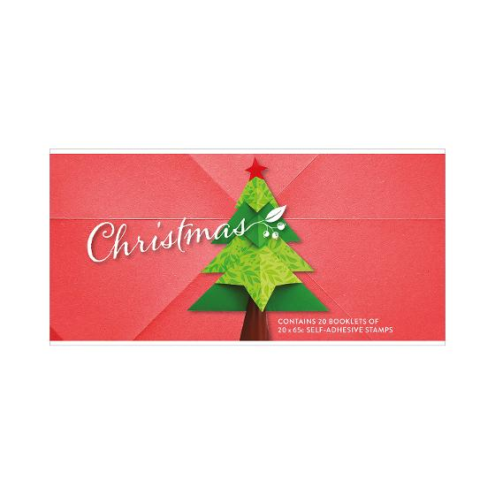 Chequebook of 20 x 20 x 65c Christmas 2019 secular stamps product photo Internal 1 DETAILS