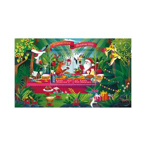 Christmas Island Christmas 2019 minisheet product photo