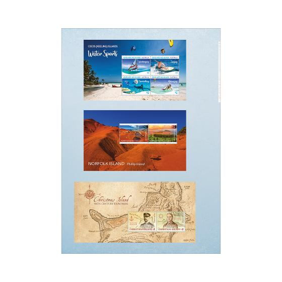 Australian Territories Collection of Stamps 2019 product photo Internal 4 DETAILS
