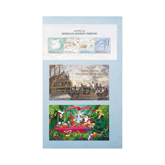 Australian Territories Collection of Stamps 2019 product photo Internal 5 DETAILS
