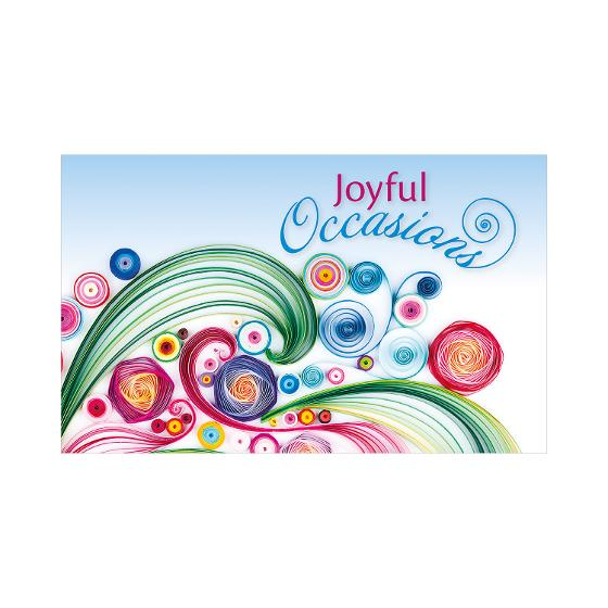 Joyful Occasions stamp pack product photo Internal 3 DETAILS
