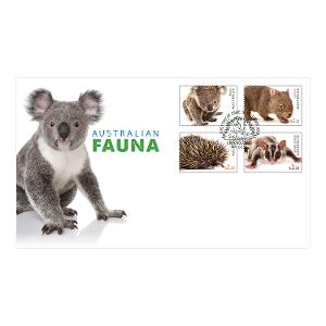First day Australian Fauna II gummed stamps cover product photo