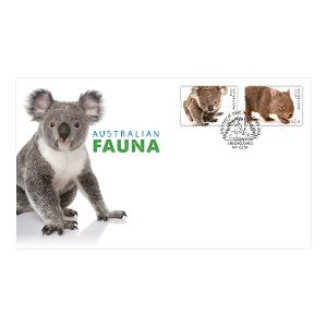 First day Australian Fauna II self-adhesive stamps cover product photo