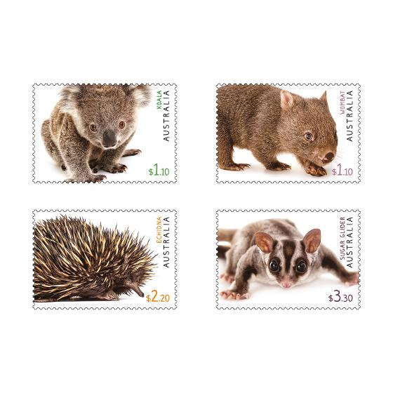 Set of Australian Fauna II stamps product photo Internal 1 DETAILS
