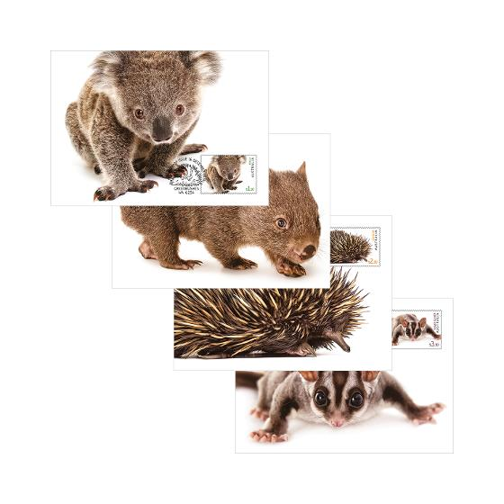Set of Australian Fauna II maxicards product photo Internal 1 DETAILS