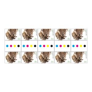 Gutter strip 10 x $1.10 Koala stamps product photo