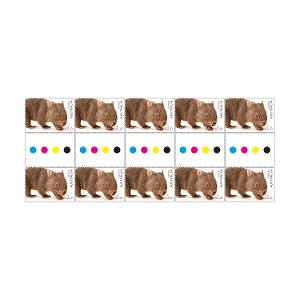 Gutter strip 10 x $1.10 Wombat stamps product photo