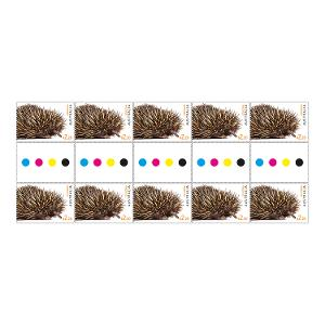 Gutter strip 10 x $2.20 Echidna stamps product photo