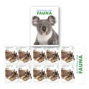 Booklet of 10 x $1.10 Koala stamps product photo
